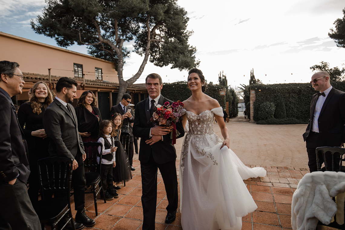 Romantic Spanish Destination Wedding in Barcelona – Andrea Ferrara 22