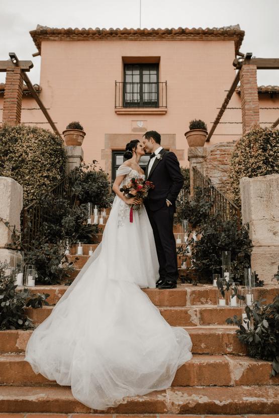 Romantic Spanish Destination Wedding in Barcelona – Andrea Ferrara 53