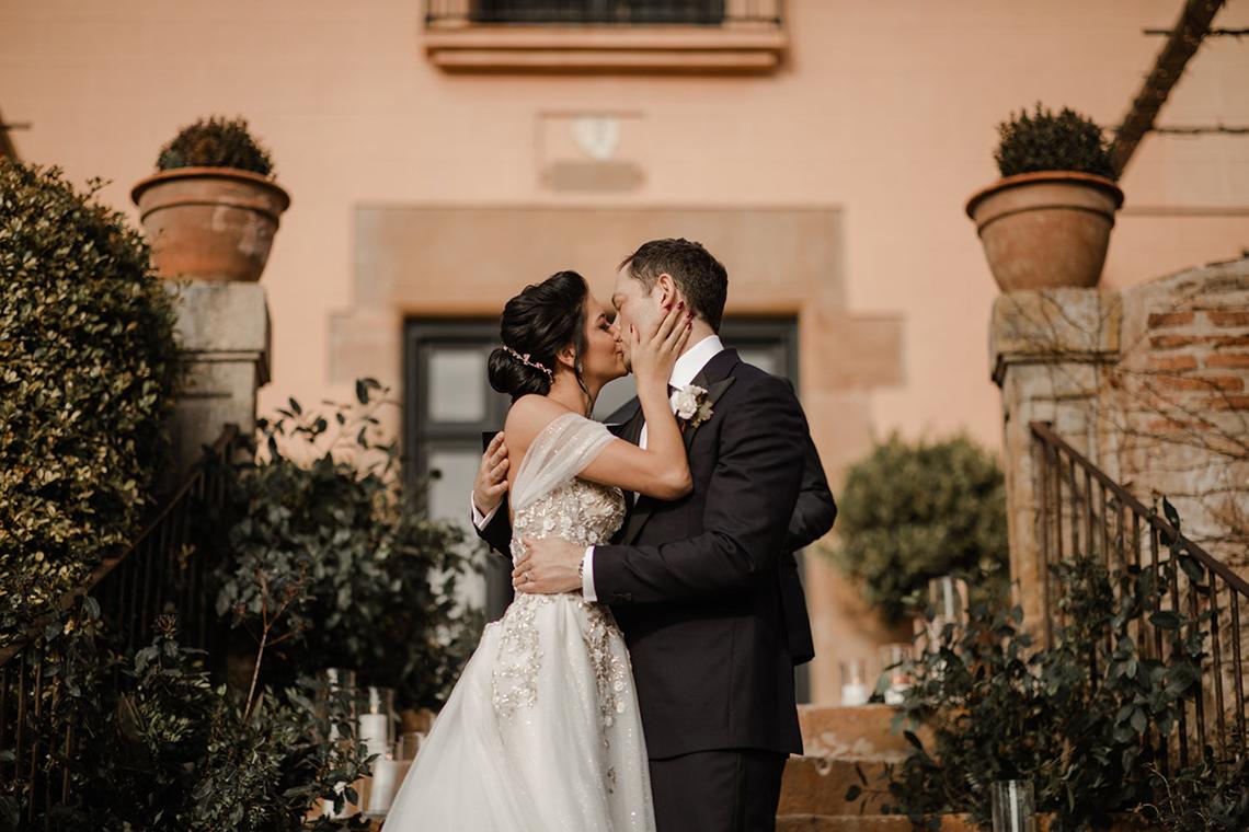 Romantic Spanish Destination Wedding in Barcelona – Andrea Ferrara 6