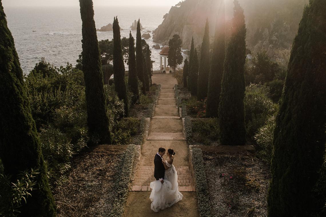 Romantic Spanish Destination Wedding in Barcelona – Andrea Ferrara 7