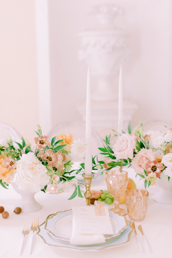 Elegant Blush Wedding Inspiration from a German Baroque Castle – Bonjour Paper – Anja Schneemann Photo 14