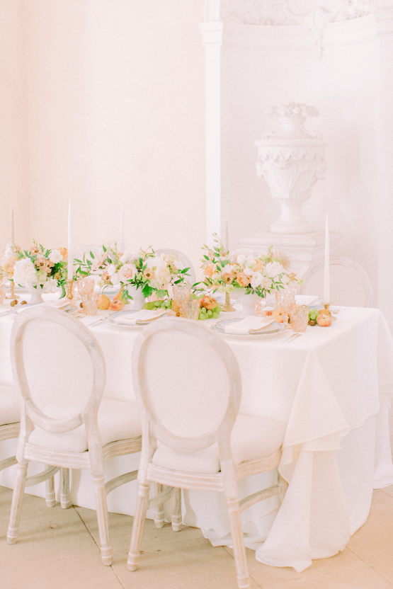 Elegant Blush Wedding Inspiration from a German Baroque Castle – Bonjour Paper – Anja Schneemann Photo 23