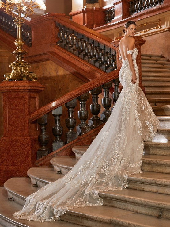 Extravagant Wedding Dresses for 2021 2022 – Val Stefani – Bridal Musings – D8272 C