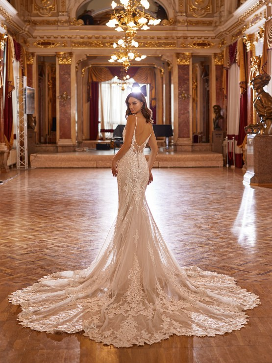 Extravagant Wedding Dresses for 2021 2022 – Val Stefani – Bridal Musings – D8274 B