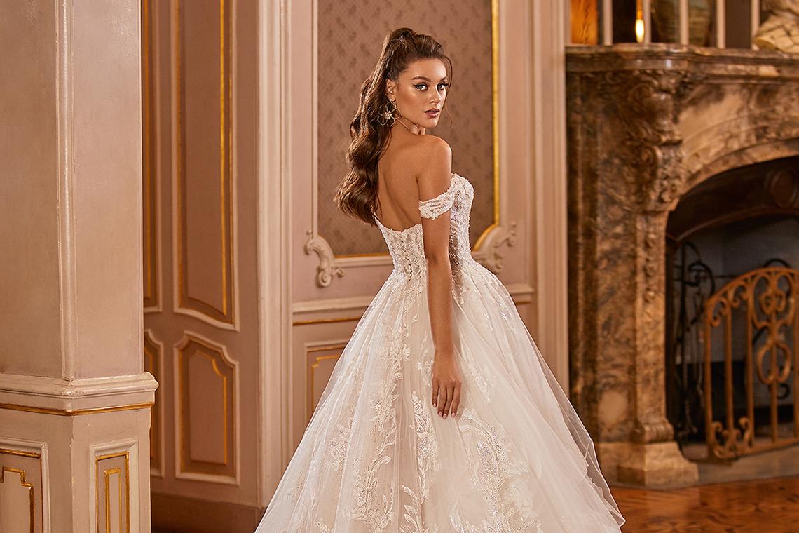 Extravagant Wedding Dresses for 2021 2022 – Val Stefani – Bridal Musings – D8278 B 2