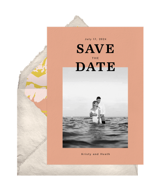 Floral Crush Save The Date – Greenvelope Digital Save The Date Wedding Invitations – Bridal Musings