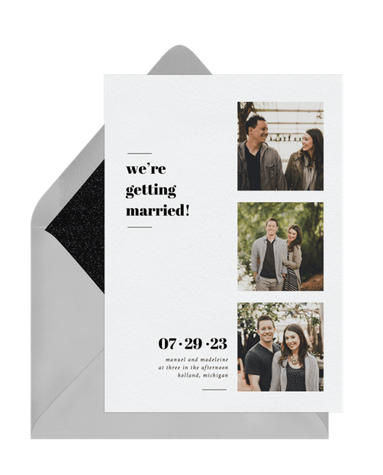 Getting Married Save The Date – Greenvelope Digital Save The Date Wedding Invitations – Bridal Musings