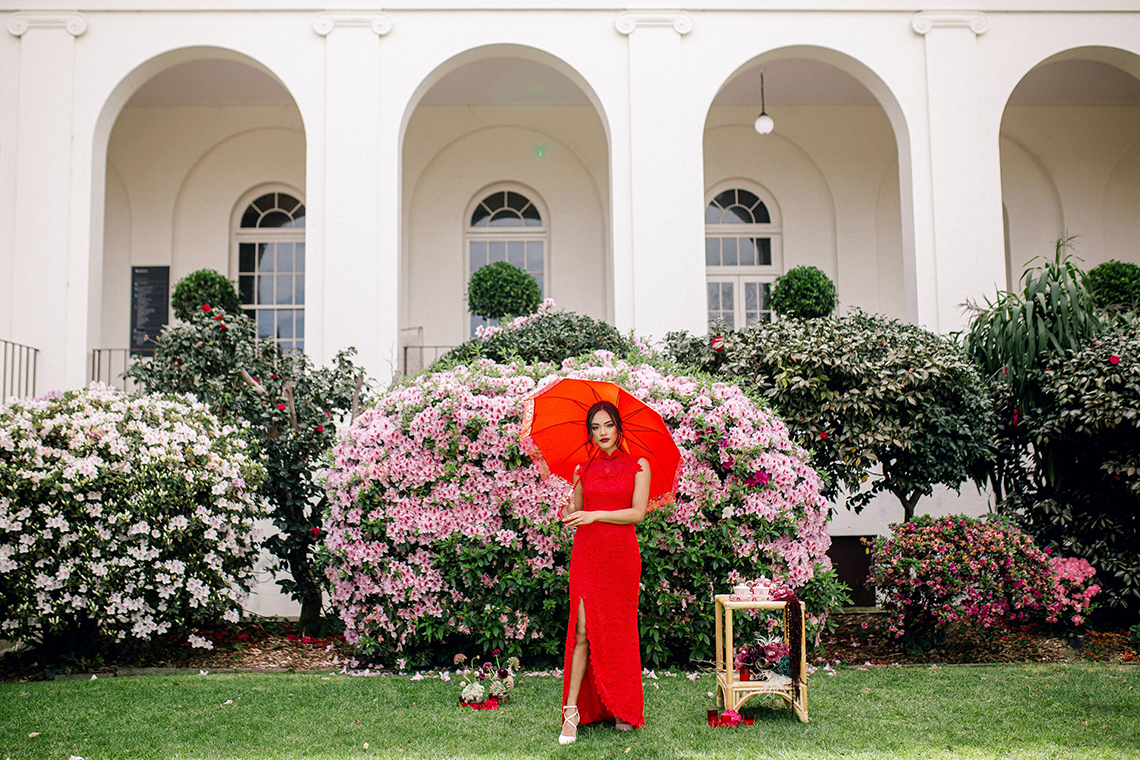 Gorgeous Chinese Tea Ceremony and Wedding Inspiration with Orchids – Clarzzique – Lilelements 2