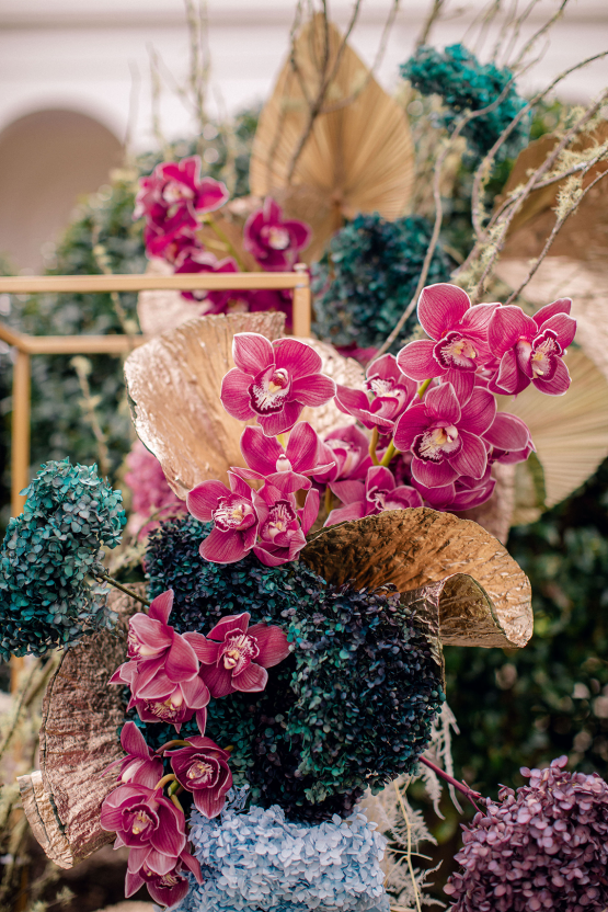 Gorgeous Chinese Tea Ceremony and Wedding Inspiration with Orchids – Clarzzique – Lilelements 33