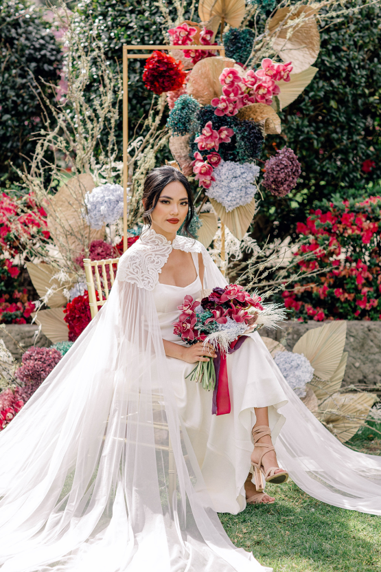 Gorgeous Chinese Tea Ceremony and Wedding Inspiration with Orchids – Clarzzique – Lilelements 47