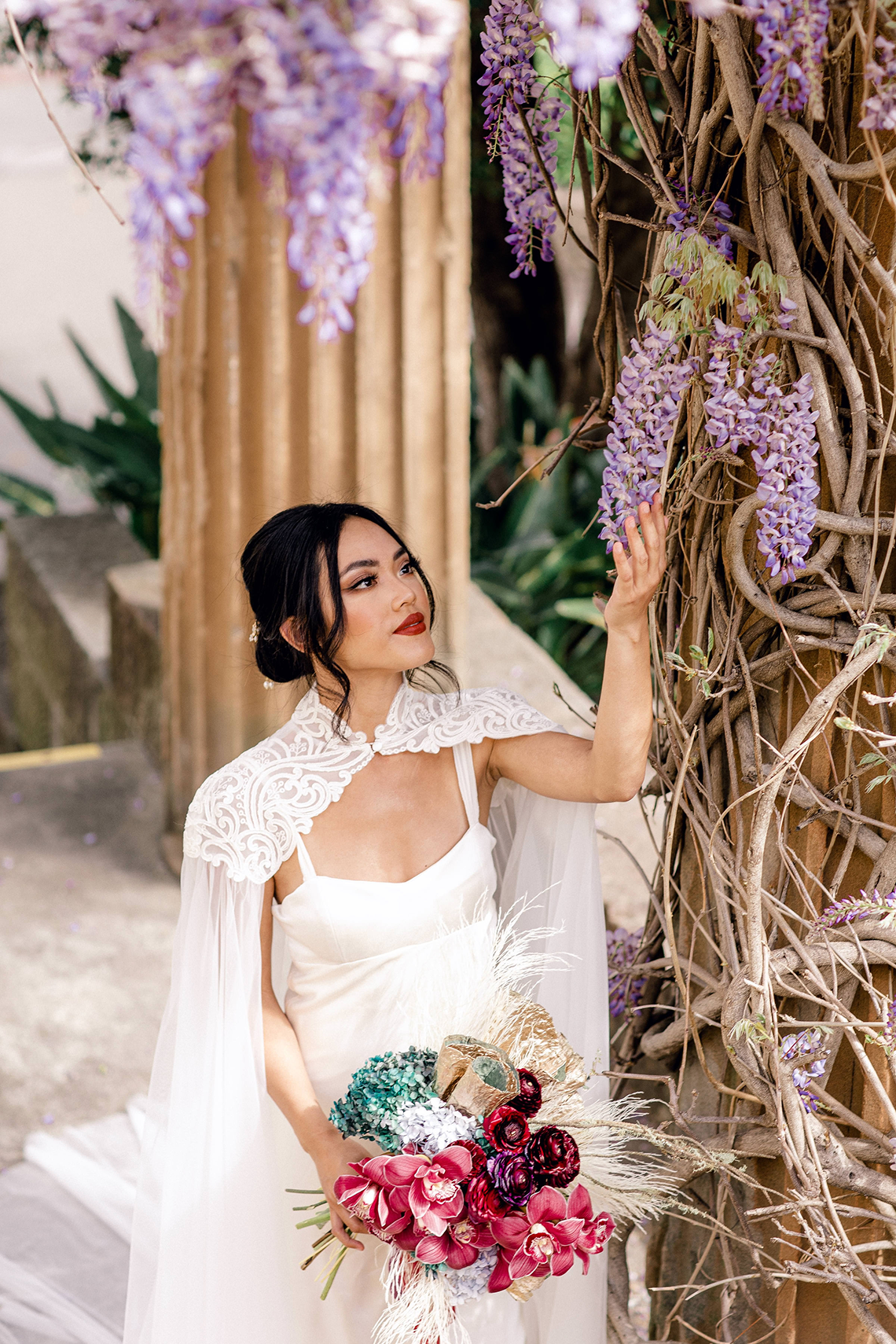 Gorgeous Chinese Tea Ceremony and Wedding Inspiration with Orchids – Clarzzique – Lilelements 49