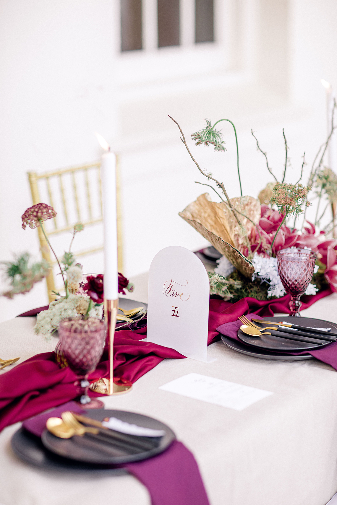 Gorgeous Chinese Tea Ceremony and Wedding Inspiration with Orchids – Clarzzique – Lilelements 55