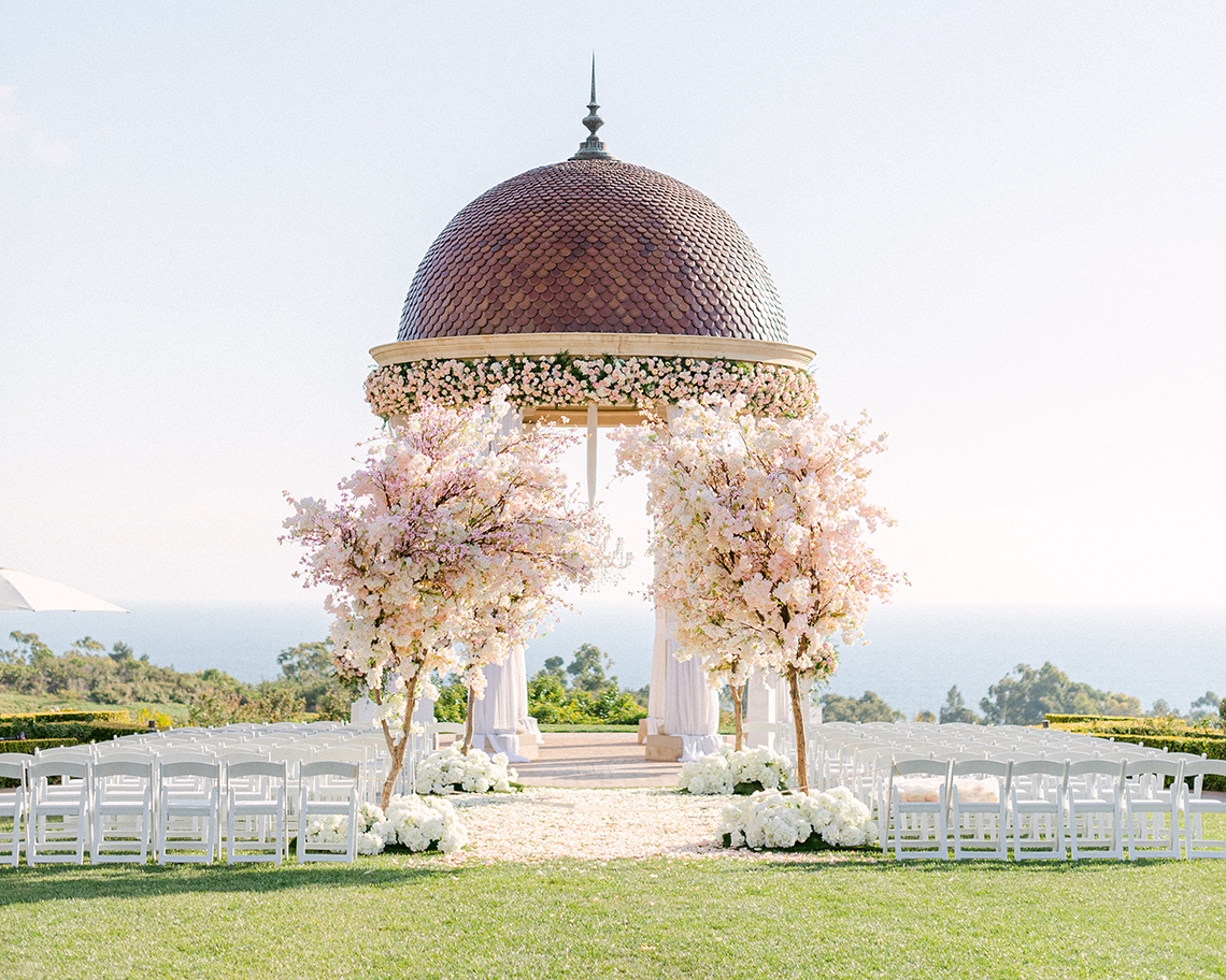 Incredible Floral Rich Pelican Hill Wedding – Brett Hickman Photography – Galia Lahav Real Bride 2
