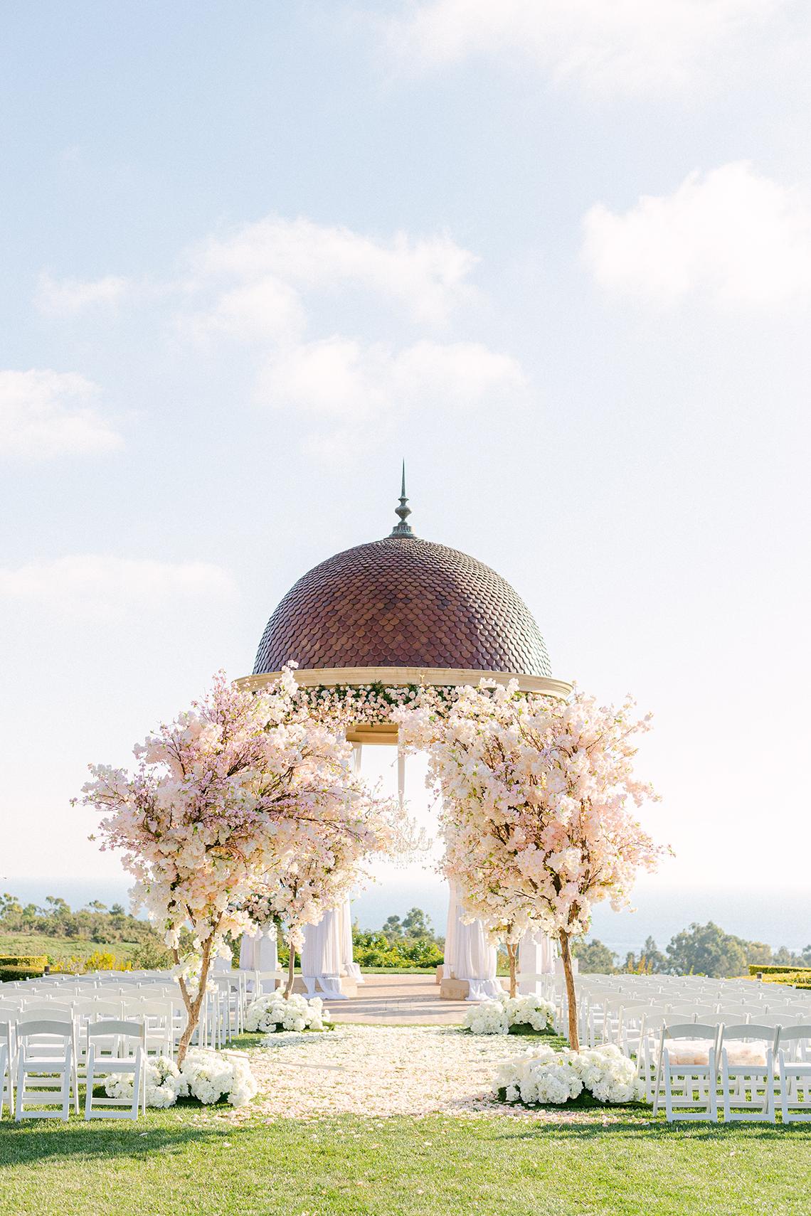 Incredible Floral Rich Pelican Hill Wedding – Brett Hickman Photography – Galia Lahav Real Bride 20