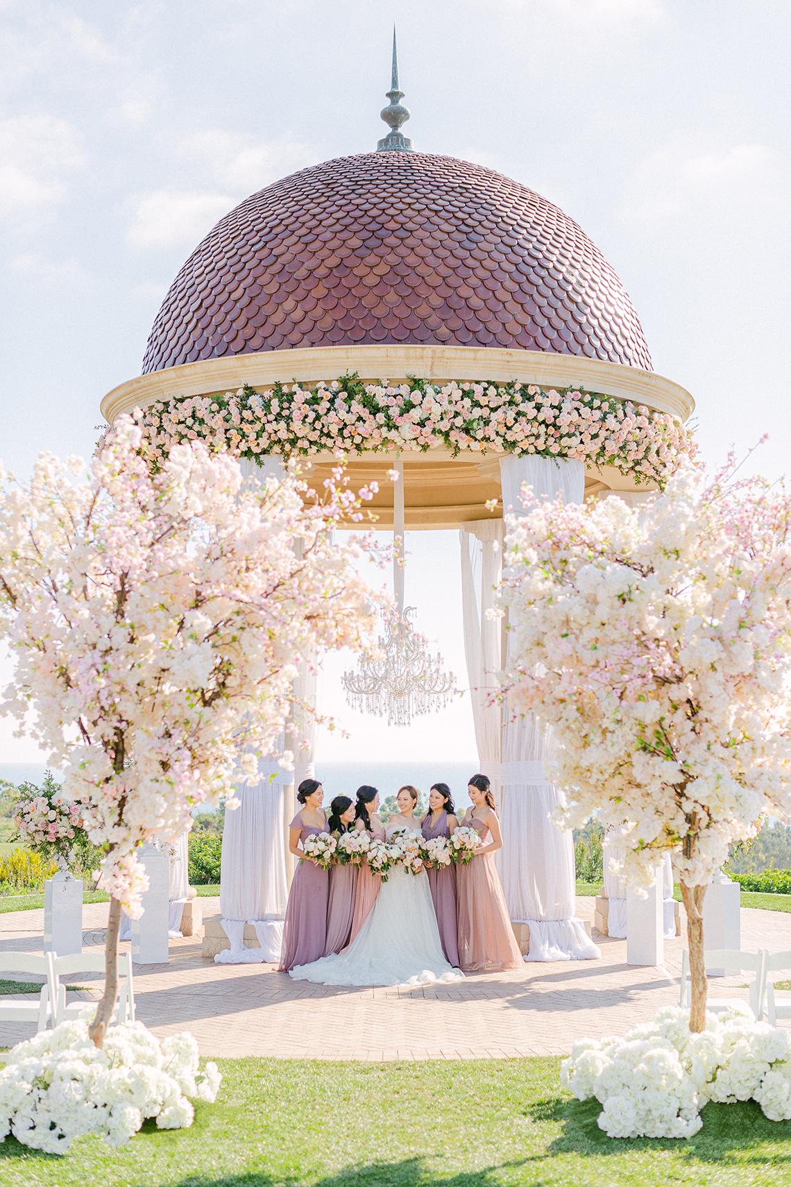 Incredible Floral Rich Pelican Hill Wedding – Brett Hickman Photography – Galia Lahav Real Bride 37