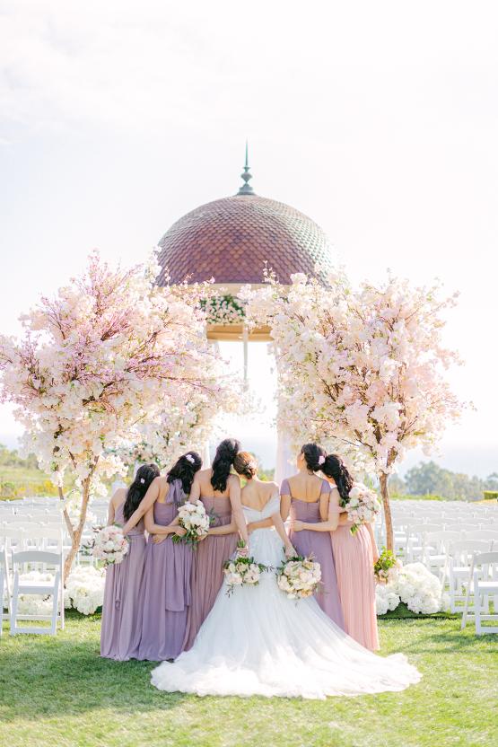 Incredible Floral Rich Pelican Hill Wedding – Brett Hickman Photography – Galia Lahav Real Bride 39