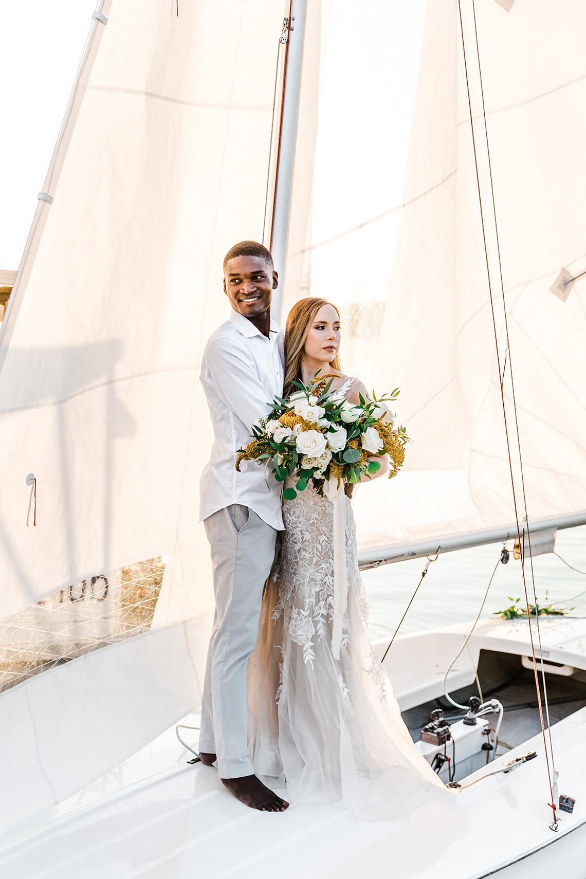 Simple Romantic Sunset Sailboat Elopement Inspiration – Lyndi Ruth Photography 13