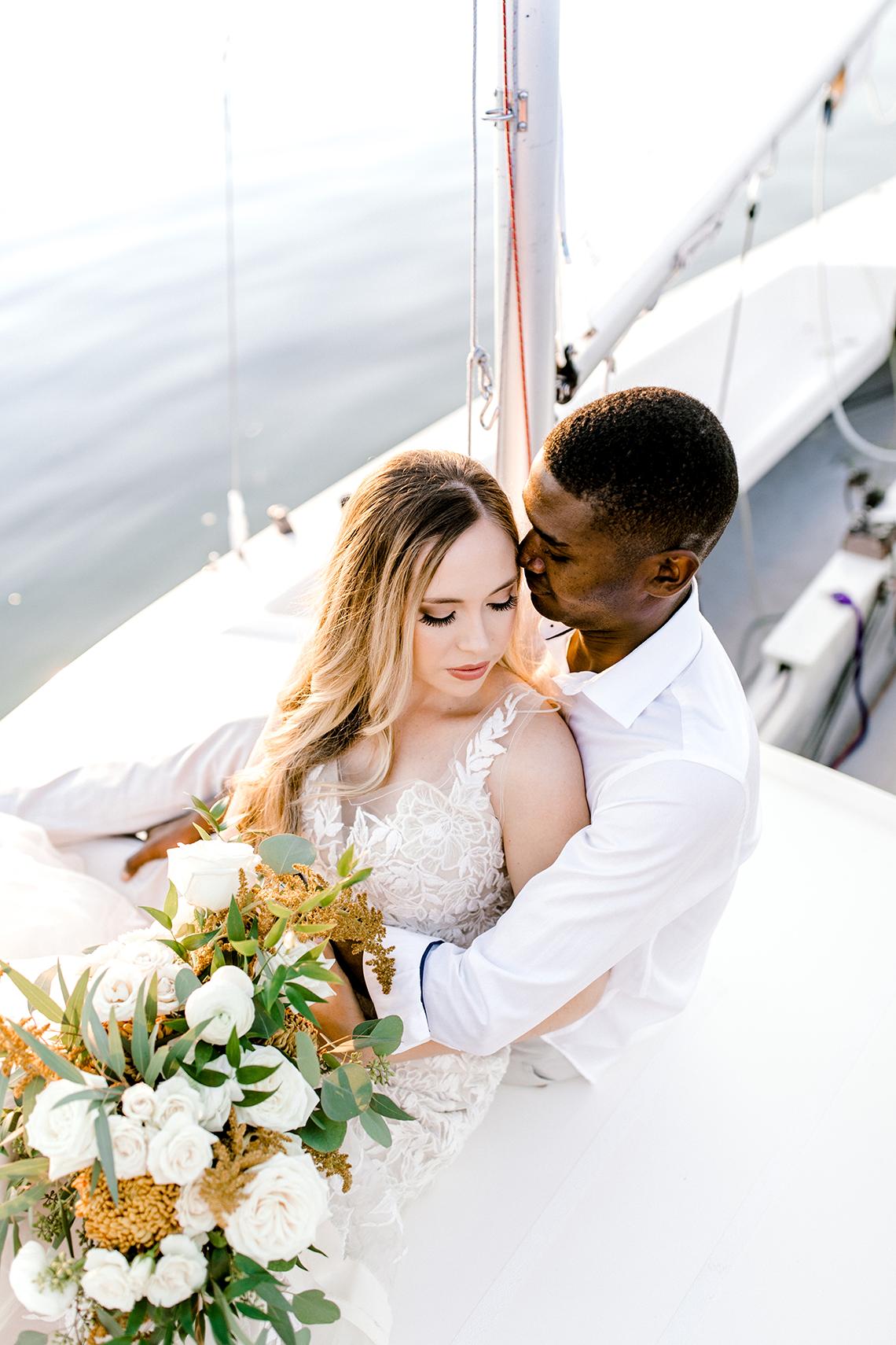Simple Romantic Sunset Sailboat Elopement Inspiration – Lyndi Ruth Photography 17