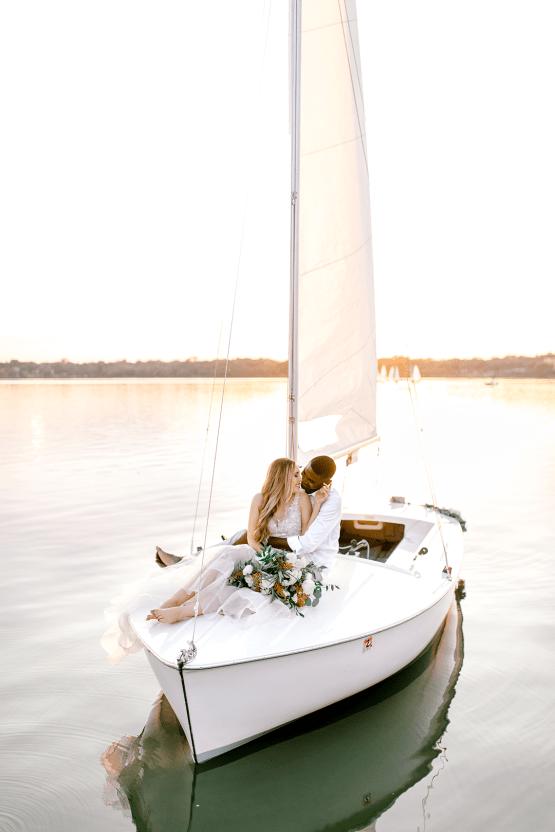 Simple Romantic Sunset Sailboat Elopement Inspiration – Lyndi Ruth Photography 18