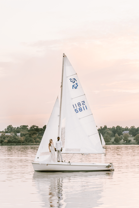 Simple Romantic Sunset Sailboat Elopement Inspiration – Lyndi Ruth Photography 28