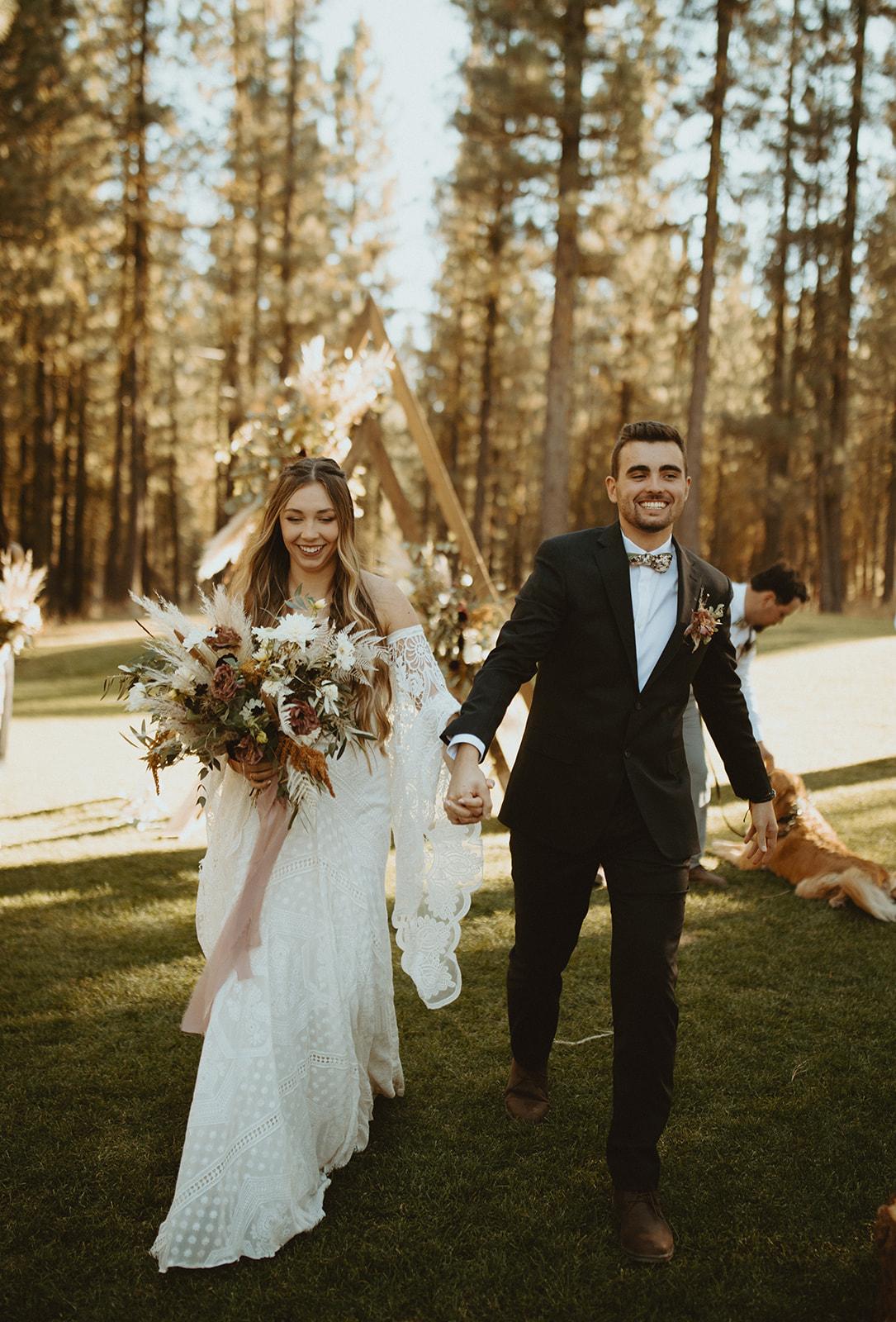 Chalene + Chris Wedding