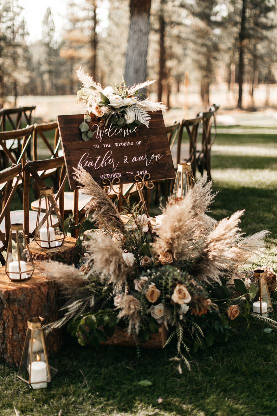 Vild Photography – The Best Outdoor Wedding Inspiration – Chalet View Lodge – Bridal Musings 1