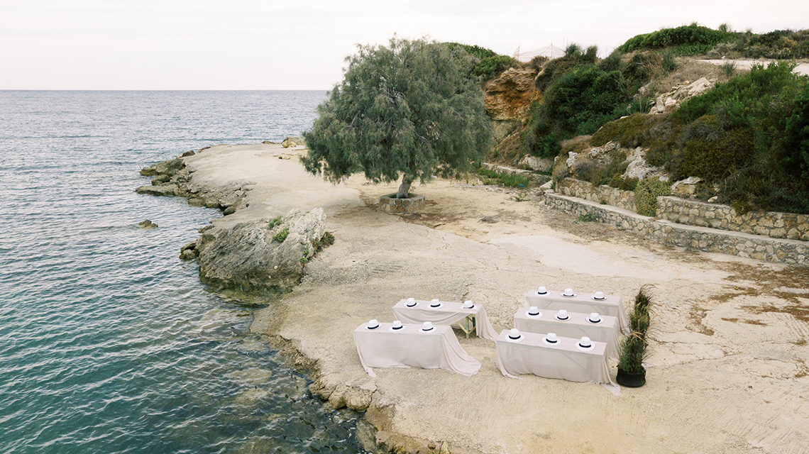 Breathtaking Greek Micro Wedding – Kefalonia Island – Vesi and Yiannis Simopoulos 3