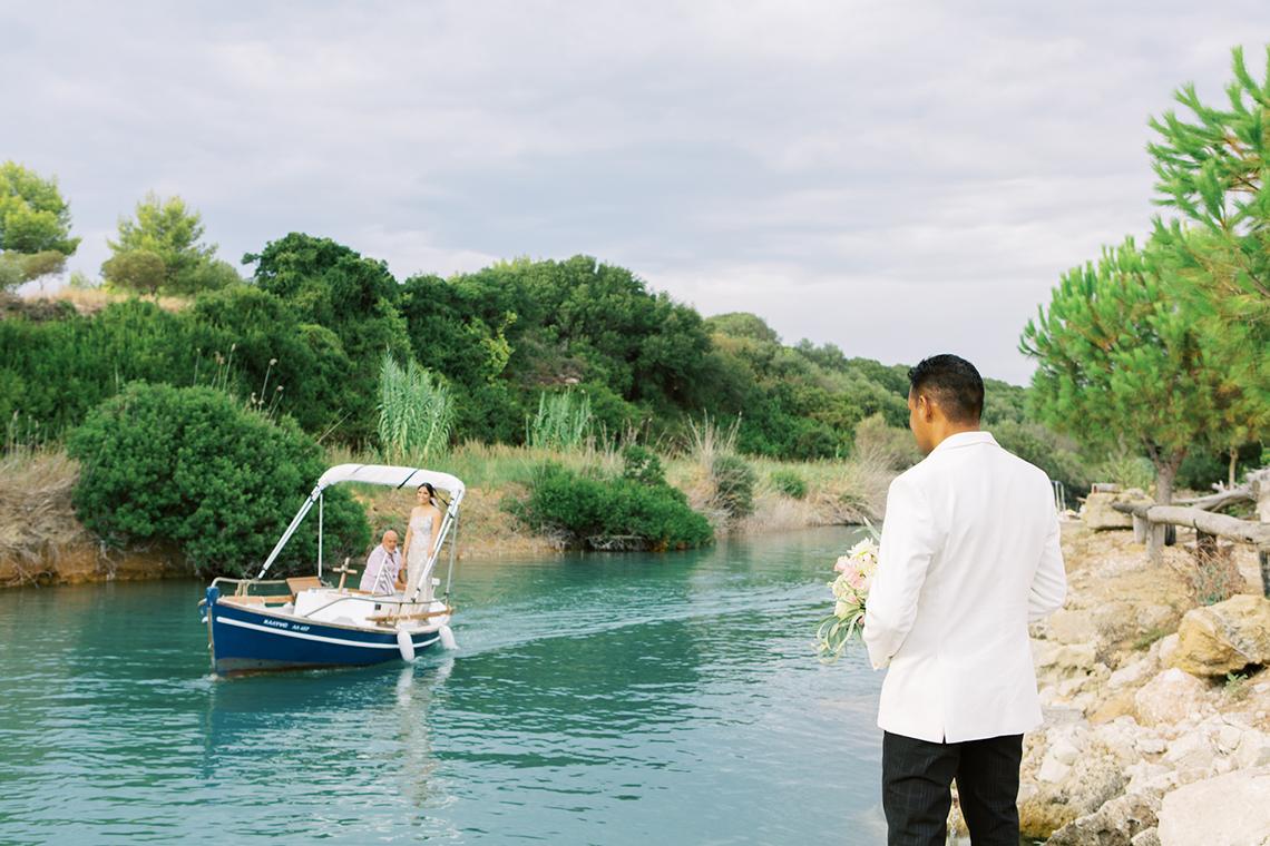 Breathtaking Greek Micro Wedding – Kefalonia Island – Vesi and Yiannis Simopoulos 4