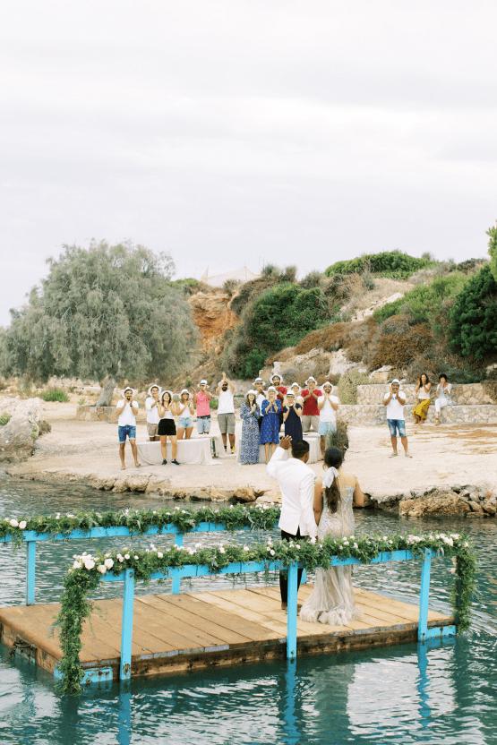 Breathtaking Greek Micro Wedding – Kefalonia Island – Vesi and Yiannis Simopoulos 46