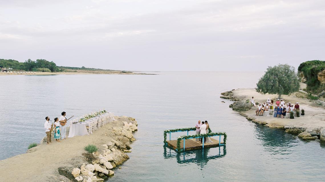 Breathtaking Greek Micro Wedding – Kefalonia Island – Vesi and Yiannis Simopoulos 7
