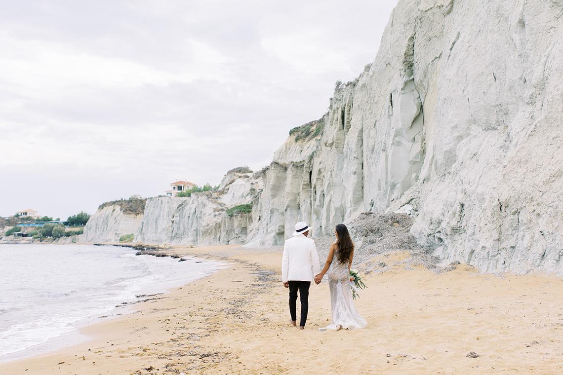 Breathtaking Greek Micro Wedding – Kefalonia Island – Vesi and Yiannis Simopoulos 9
