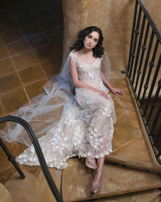 Ellen Wise Couture 2021 Custom Couture Wedding Dresses – Bridal Musings – Arabella Dress 1