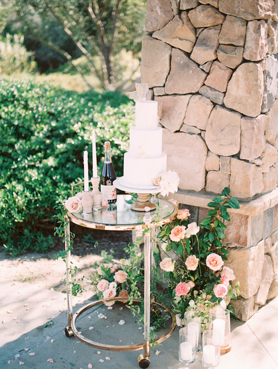 Gorgeous Garden Wedding Vow Renewal Inspiration – iamlatreuo photo – KWH Bridal 58