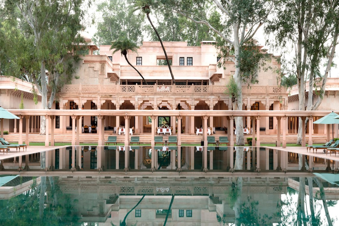 Luxury Honeymoon Destinations – Amanbagh – Bridal Musings