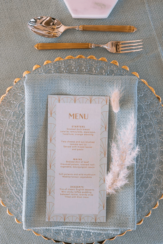 Modern Art Deco Wedding Inspiration at Burgh Island Hotel in Devon – Jennifer Jane Photography 18