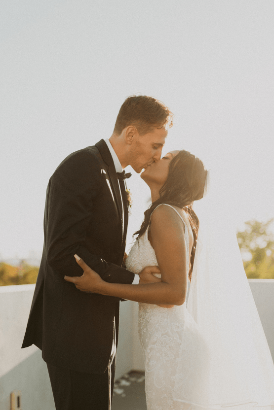 Modern Hollywood Rooftop Elopement During COVID-19 – Julia Green Photography 28