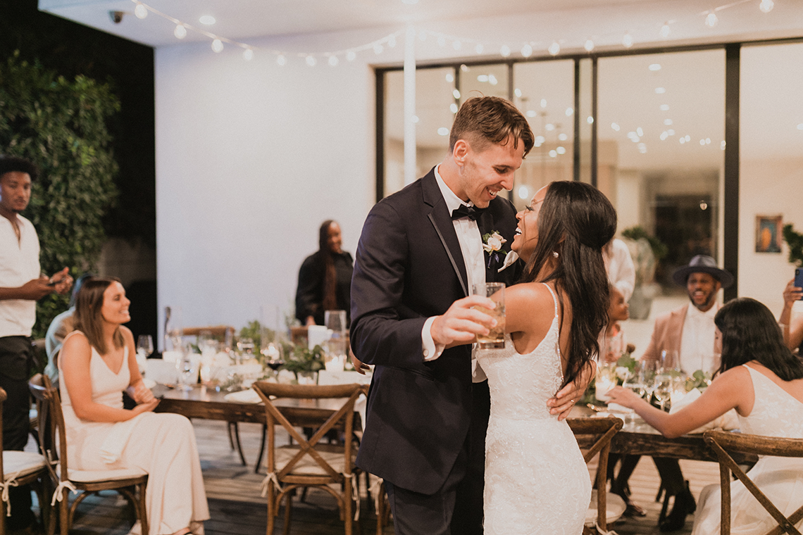 Modern Hollywood Rooftop Elopement During COVID-19 – Julia Green Photography 3