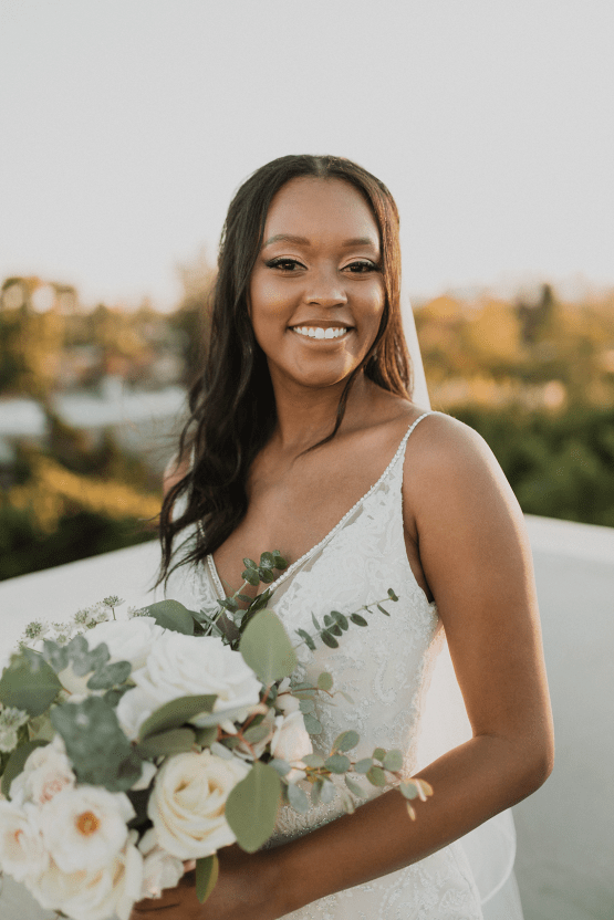 Modern Hollywood Rooftop Elopement During COVID-19 – Julia Green Photography 35
