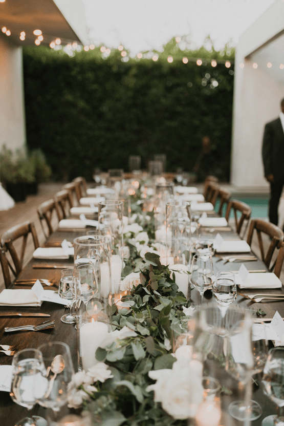 Modern Hollywood Rooftop Elopement During COVID-19 – Julia Green Photography 41