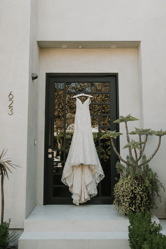 Modern Hollywood Rooftop Elopement During COVID-19 – Julia Green Photography 6