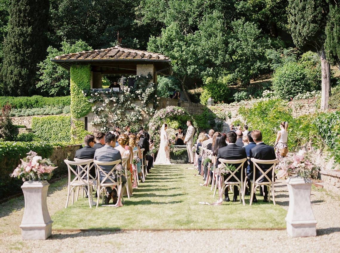 Romantic Florence Destination Wedding at Villa le Fontanelle – Olga Makarova 40