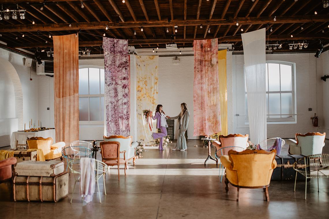 Zesty Colorful Same Sex Wedding Inspiration – Miz Sylvia – Camilla Andrea Photography 3