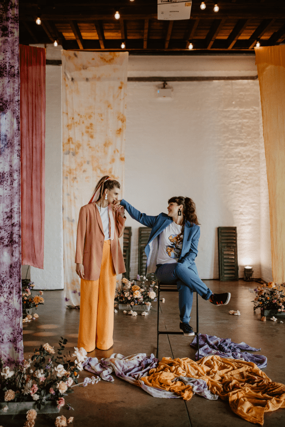 Zesty Colorful Same Sex Wedding Inspiration – Miz Sylvia – Camilla Andrea Photography 46