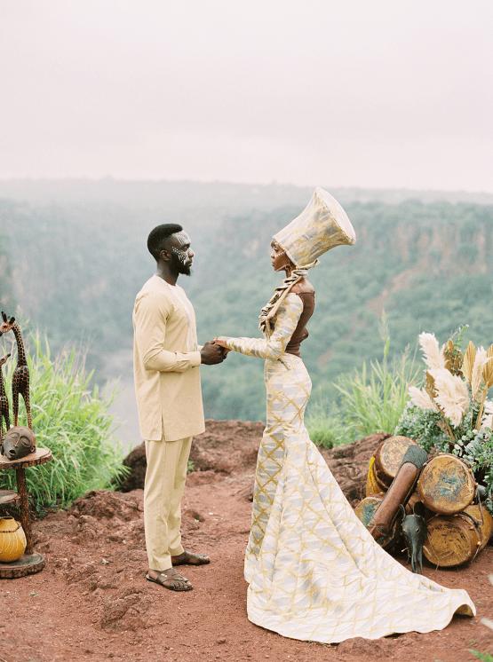 Black Panther Inspired African Wedding Ideas – Livingstone Island – Zambia – Love From Mwai – Stepan Vrzala 132