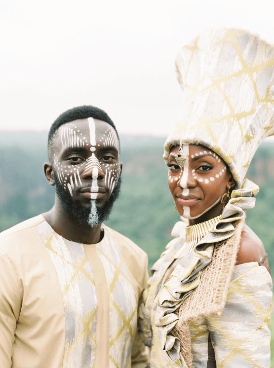 Black Panther Inspired African Wedding Ideas – Livingstone Island – Zambia – Love From Mwai – Stepan Vrzala 149