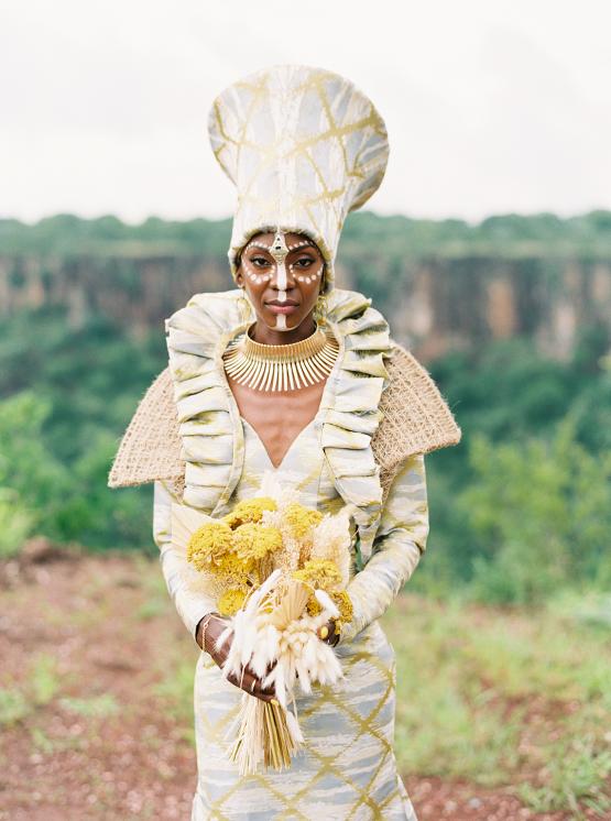 Black Panther Inspired African Wedding Ideas – Livingstone Island – Zambia – Love From Mwai – Stepan Vrzala 155