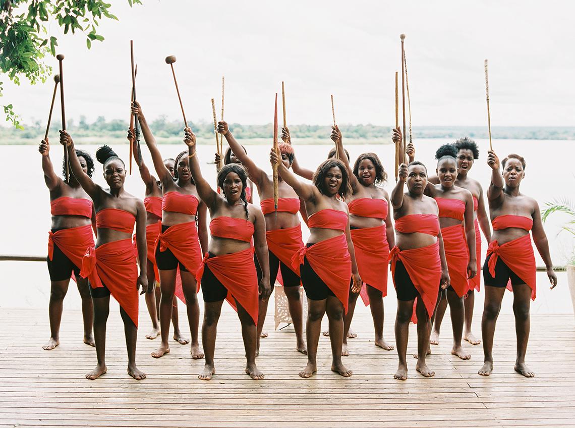Black Panther Inspired African Wedding Ideas – Livingstone Island – Zambia – Love From Mwai – Stepan Vrzala 171