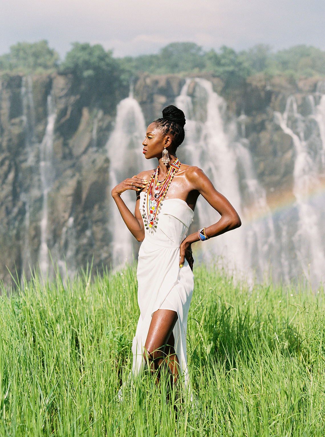 Black Panther Inspired African Wedding Ideas – Livingstone Island – Zambia – Love From Mwai – Stepan Vrzala 30