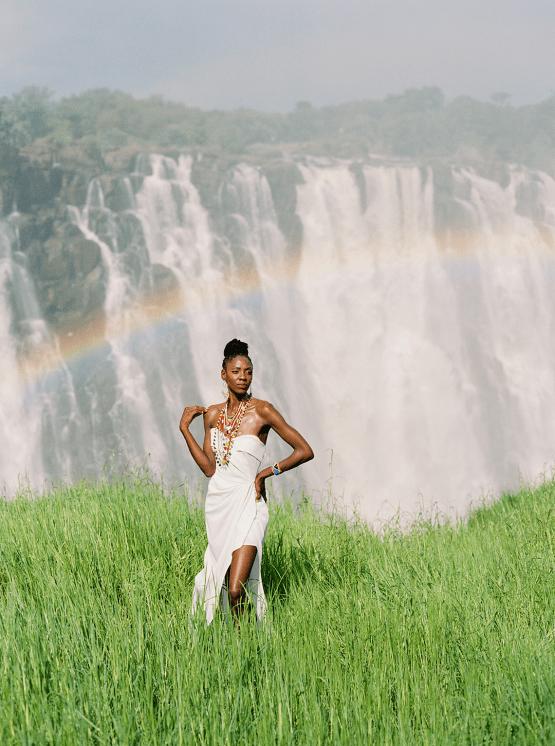 Black Panther Inspired African Wedding Ideas – Livingstone Island – Zambia – Love From Mwai – Stepan Vrzala 34