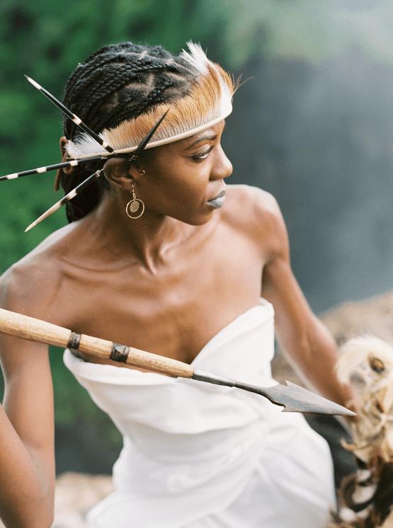 Black Panther Inspired African Wedding Ideas – Livingstone Island – Zambia – Love From Mwai – Stepan Vrzala 64
